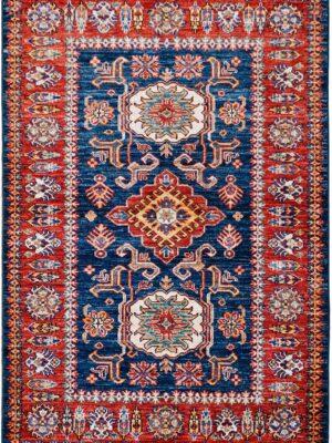 65054-KAZAK TRIBAL RUG