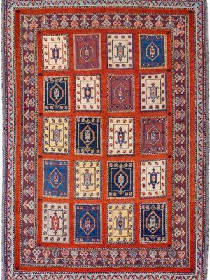 65055-PERSIAN BALOUCH RAHRAH SOUMAK RUG