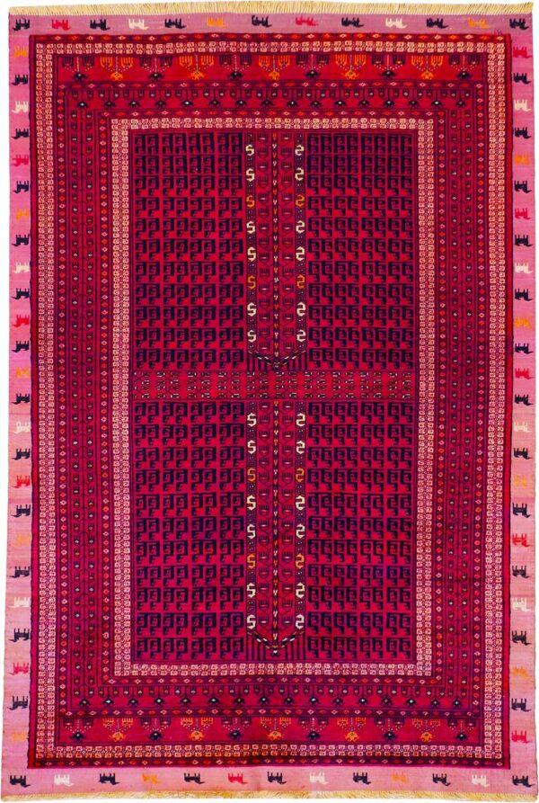 65069-SILK BOKHARA RUG