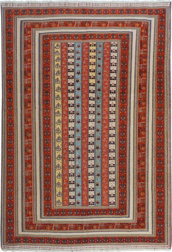 65195-PERSIAN BALOUCH SOUMAK RAHRAH RUG