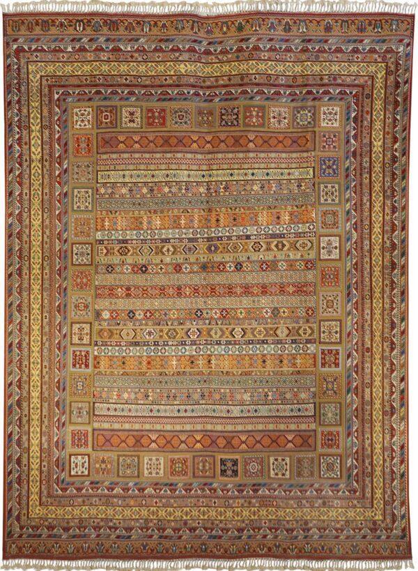 65308-KURDISH RAHRAH SOUMAK RUG