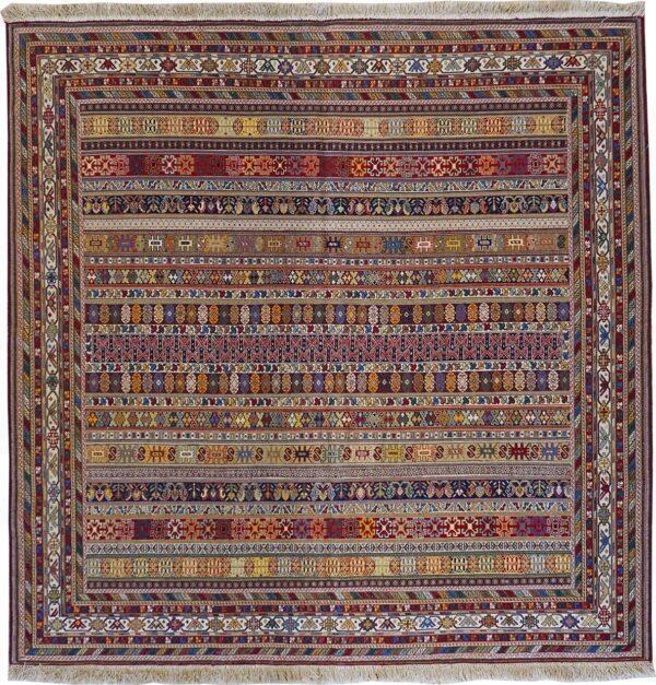 65314-KURDISH RAHRAH SOUMAK RUG