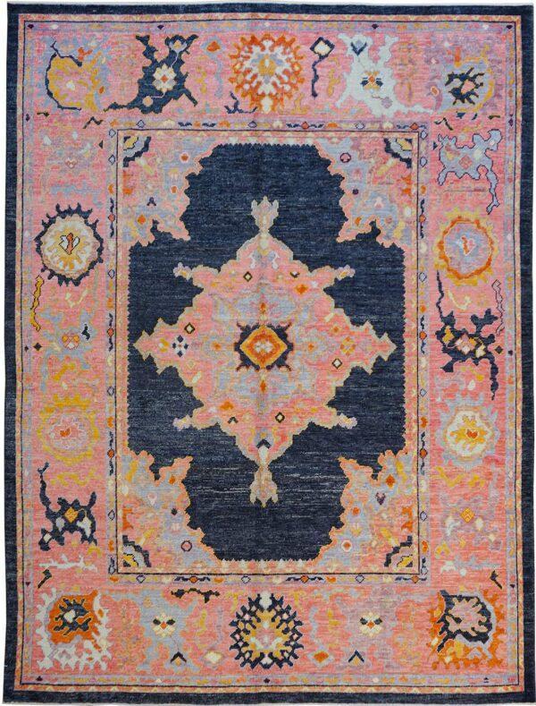 65328-TURKISH OUSHAK AREA RUG
