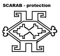 scarab symbol oriental rugs